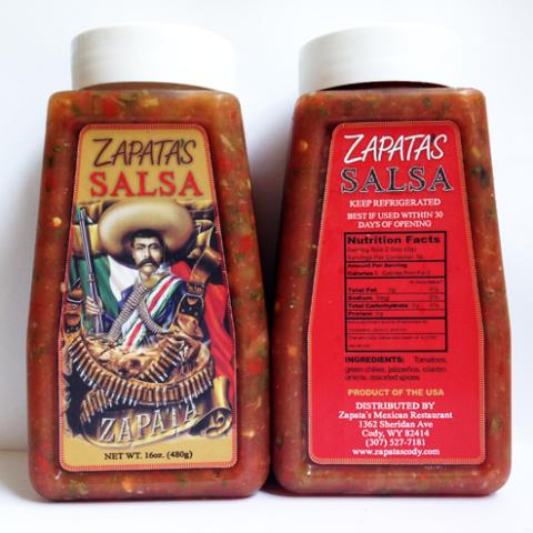 16 oz. Zapata's Fresh Salsa